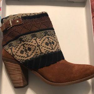 Jessica Simpson booties with heels